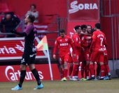 El Numancia toma impulso frente al Sporting