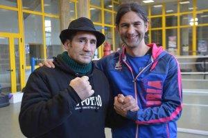 Masterclass de Poli Díaz en el Club Boxeo Numancia - fotos