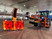 Nuevo tractor desbrozador con fresadora para la Diputación