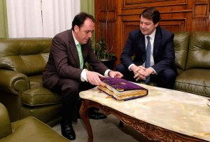 Visita institucional del presidente de la Junta - fotos