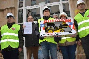 Soria ¡Ya! urge la autovía del Duero - fotos