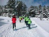 Los Pelendones organiza una ruta de nieve en Santa Inés