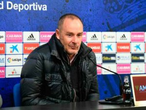 """Fernández: """"necesitamos energía y fútbol para superar al Numancia"""""""