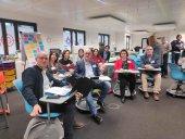 El IES Antonio Machado, de taller formativo en Bruselas