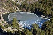 Cerrada la pista forestal de La Laguna Negra