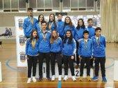 Once medallas de Bádminton Soria en Alfajarín