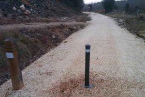 La Diputación defiende el buen mantenimiento de Vía Verde