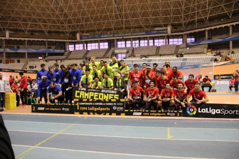 Bronce para el Atletismo Numantino en Campeonato de España