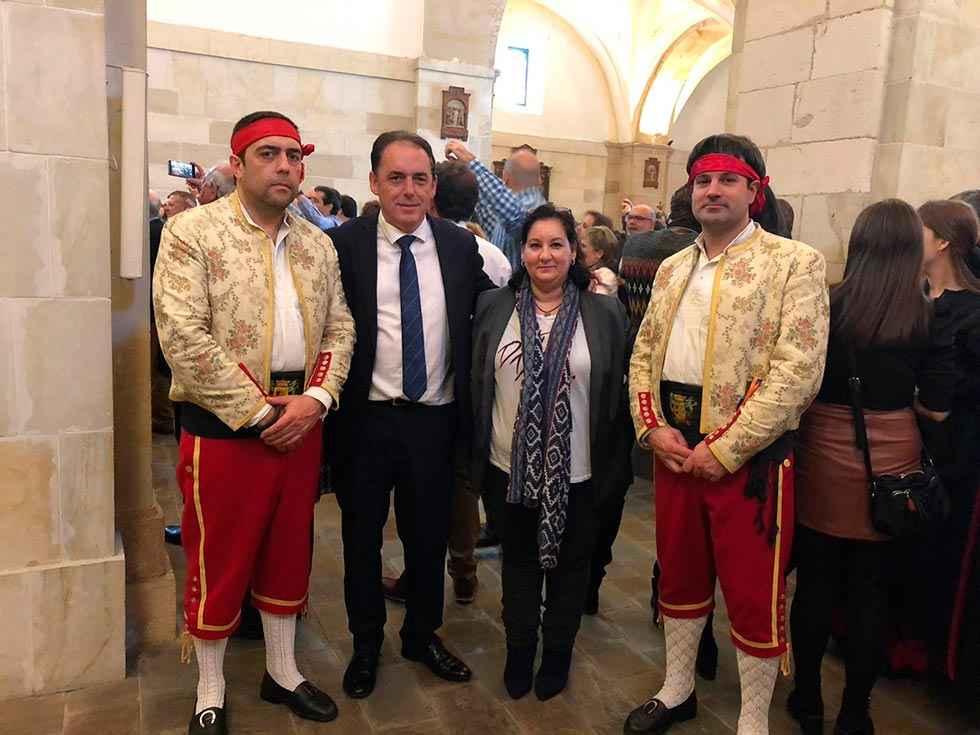 La Diputación asiste a celebración de San Blas