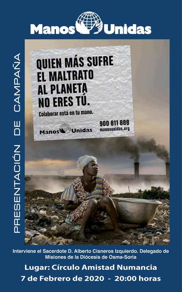 Manos Unidas presenta su nueva campaña solidaria