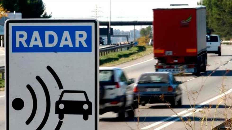 Tres de los 50 radares que más multan están en la región