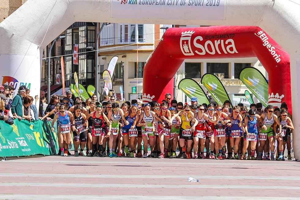 El Campeonato de España de Duatlón vuelve a Soria