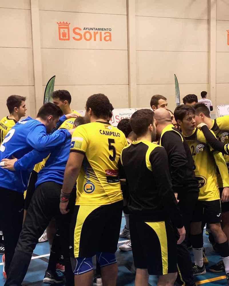 El Balonmano Soria se consolida en segunda plaza