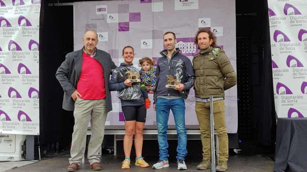 Ganadores del Campo a Través escolar en Navaleno