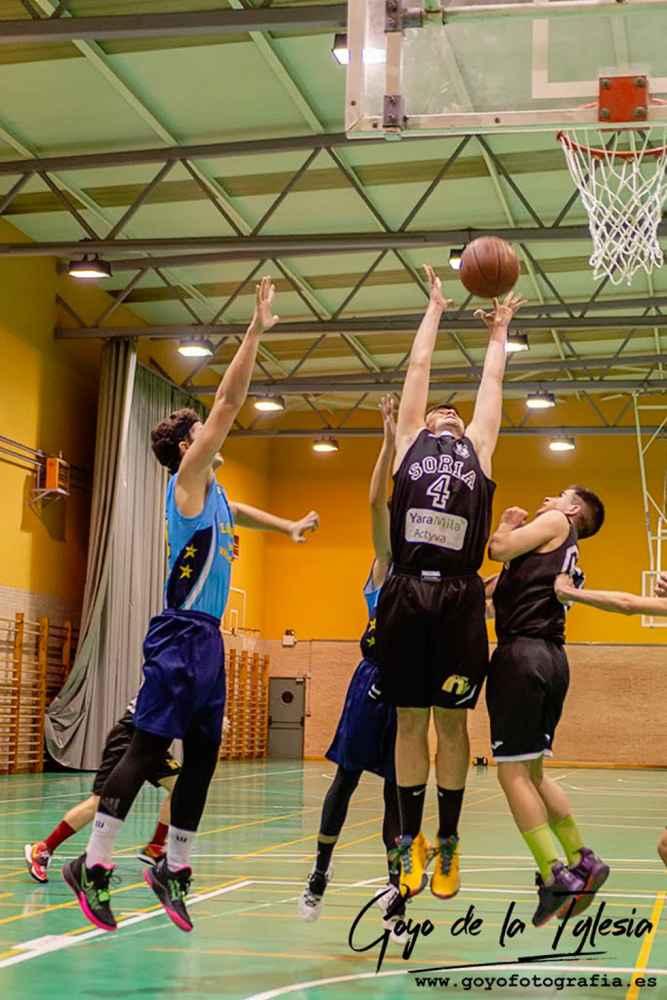 Jornada de impás para el Club Soria Baloncesto