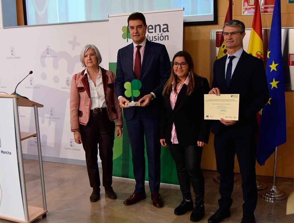 """Premio de """"Plena Inclusión"""", para la Junta"""