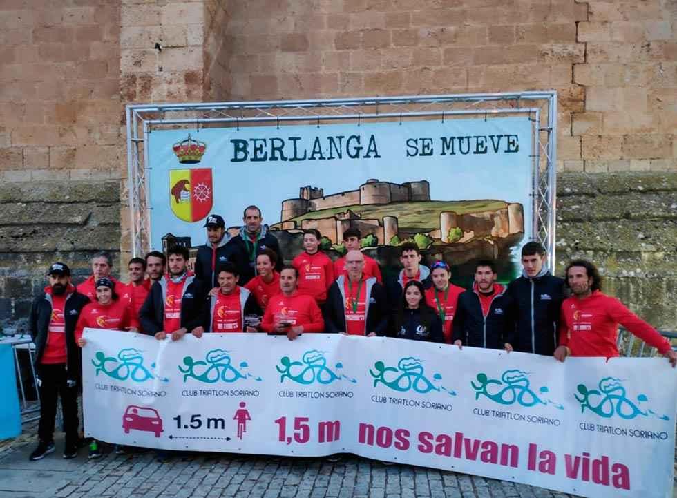Barranco y Ceballos, con plaza para el Duatlón élite de Soria