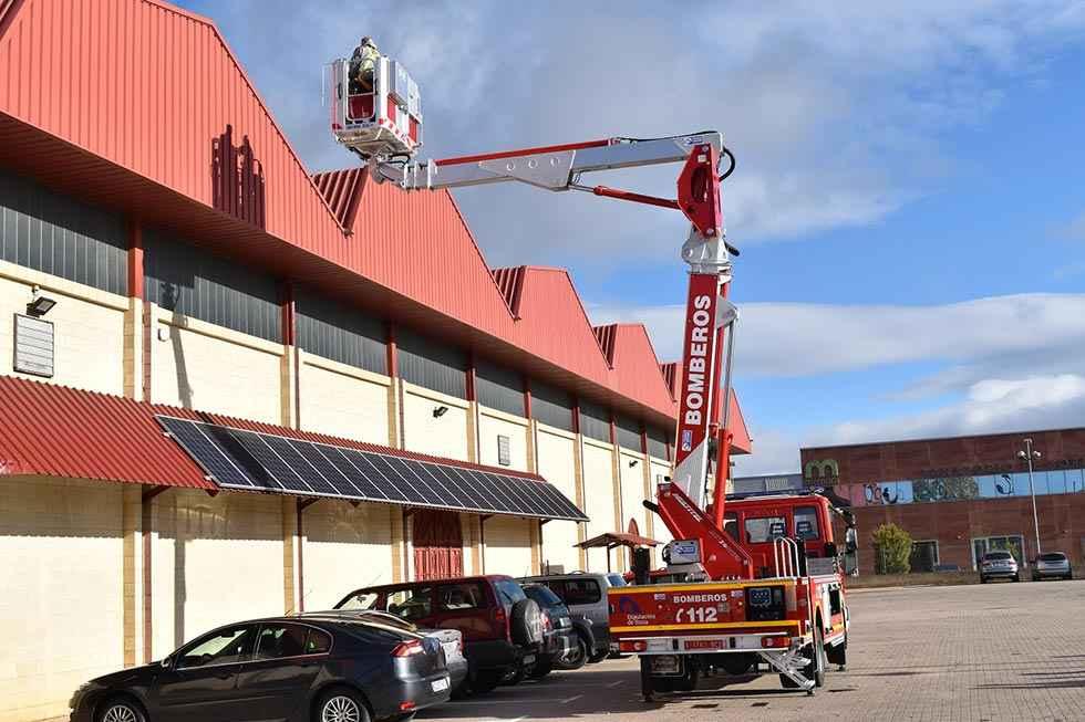 La Diputación adquiere un segundo vehículo de altura