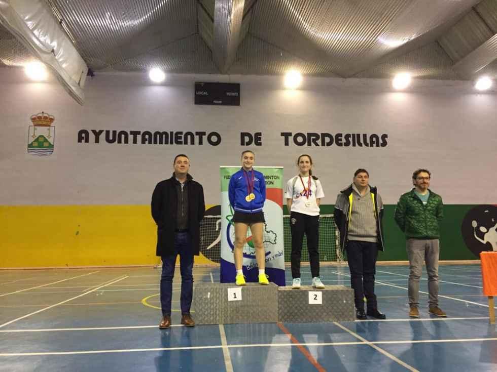 Siete medallas de los volantistas en Tordesillas y Alfajarín
