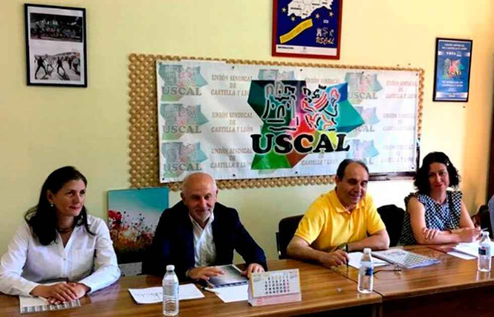 USCAL apoya manifestación de empleados públicos temporales
