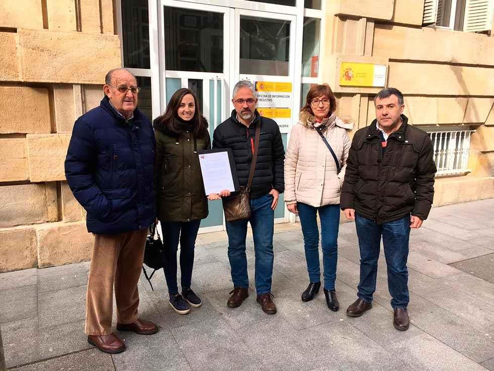 Soria ¡Ya! pide reunirse con la presidenta de la Comunidad navarra