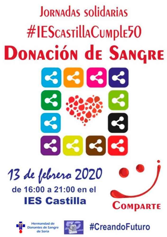 El IES Castilla dona sangre