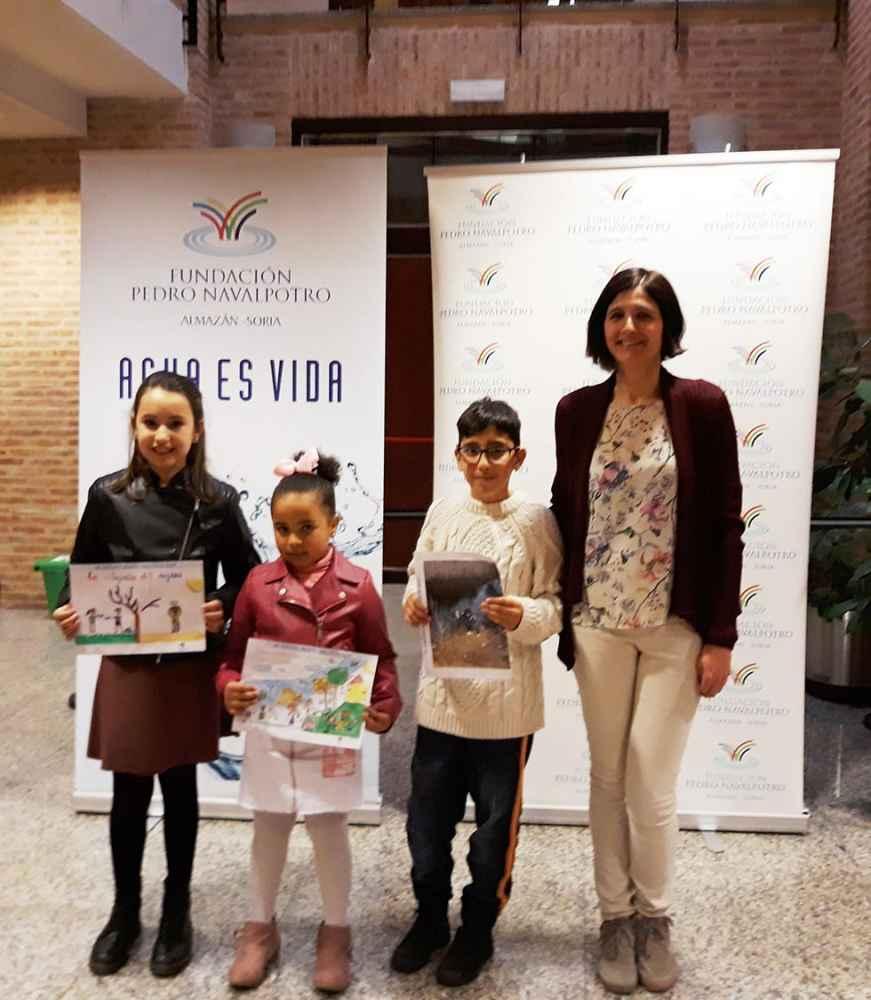 "Premiados del VIII concurso ""Dibujos del Agua"""