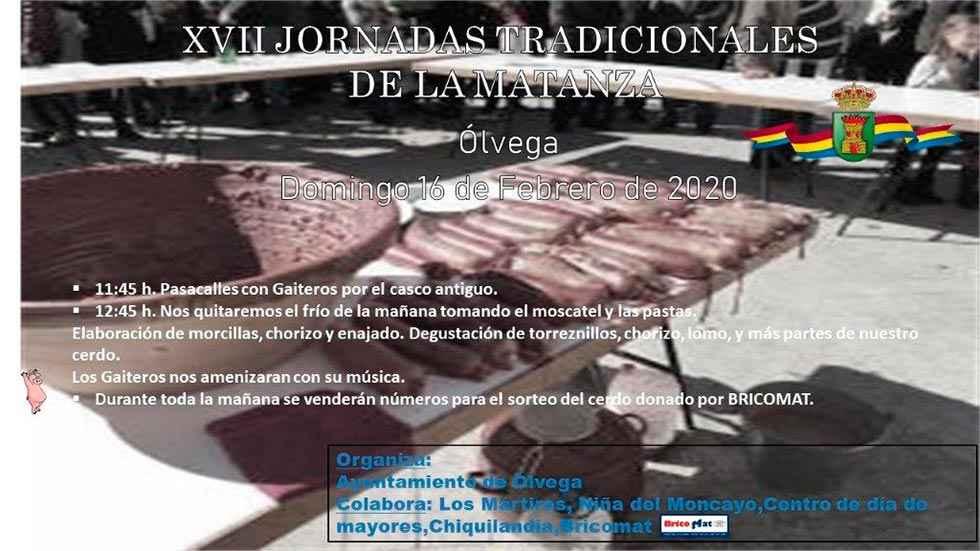 Ólvega celebra la XVII edición de sus matanzas del cerdo