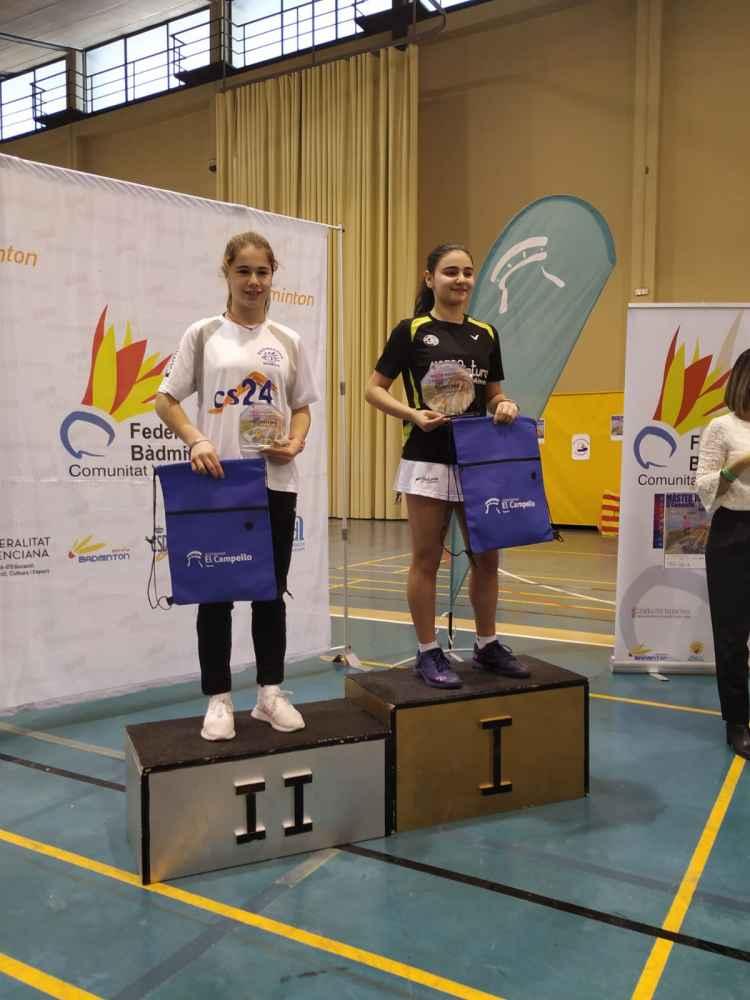Daniela Corchón, dos medallas en máster nacional