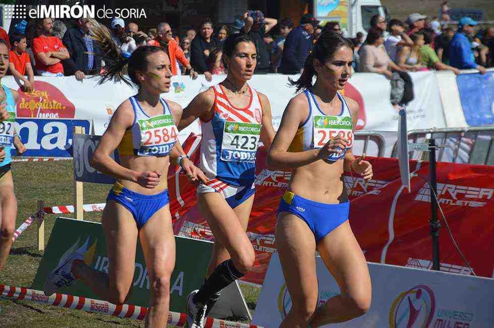 La delegación de Atletismo apoya el Europeo de Duatlón 2021