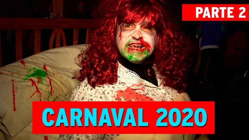 Segundo video de los carnavales en San Esteban de Gormaz