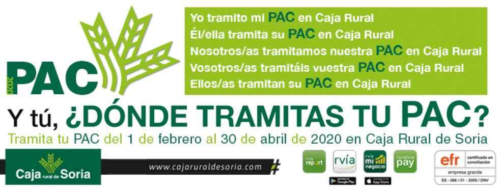 Caja Rural y Soriactiva tramitan nueva campaña de PAC