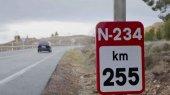 Dos accidentes sin víctimas en la N-234