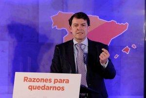 Mañueco pide recursos europeos para el reto demográfico