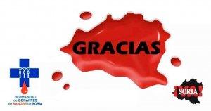 Soria ¡Ya! colabora en donación de sangre