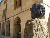 Conmemoración del 81 aniversario de muerte de Machado