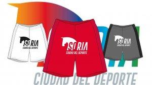 """El Numancia lucirá el logotipo """"Soria, ciudad del deporte"""""""