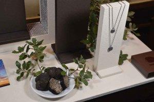 La trufa negra de Soria, inspiración de una joya real