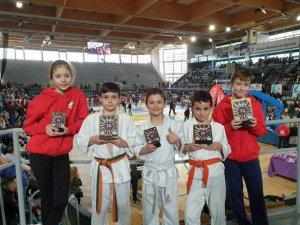 Botín de medallas de  Judo Club San José, en Palencia