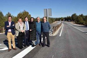 La Junta concluye la mejora de la carretera del Cañón