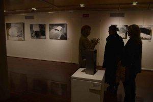 Exposición de Elvira Fustero, en Soria - fotos