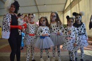 Almazán en carnaval: disfraces infantiles - fotos
