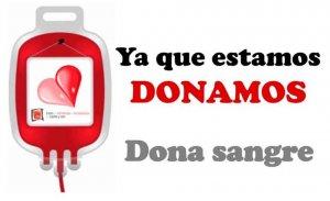 """""""Ya que estamos, donamos"""", campaña en el Sacyl"""
