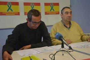 """Las OPAS convocan una """"tractorada"""" el 11 de marzo"""