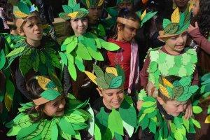 El cambio climático inspira el carnaval del CEIP Fuente del Rey - fotos