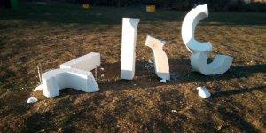 Nuevo acto de vandalismo en el circuito de Valonsadero