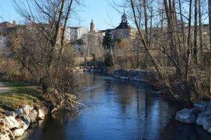 Almazán: paseo junto al río Duero - fotos