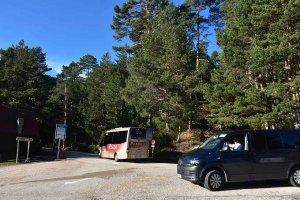 La Junta licita gestión del aparcamiento de la Laguna Negra