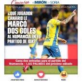 Gana dos entradas para ver el Numancia-Las Palmas