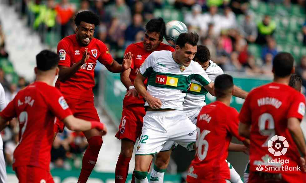 El Numancia, el segundo peor equipo de la Segunda vuelta